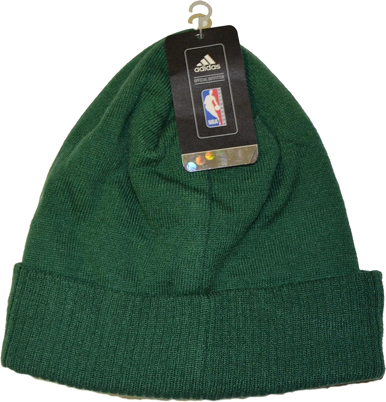 Amazon.com: Boston Celtics verde Script Cuff Beanie sombrero ...