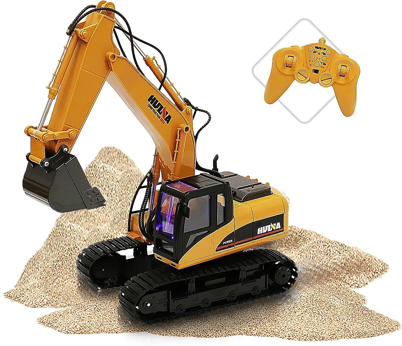 ToyThrill Remote Control Excavator