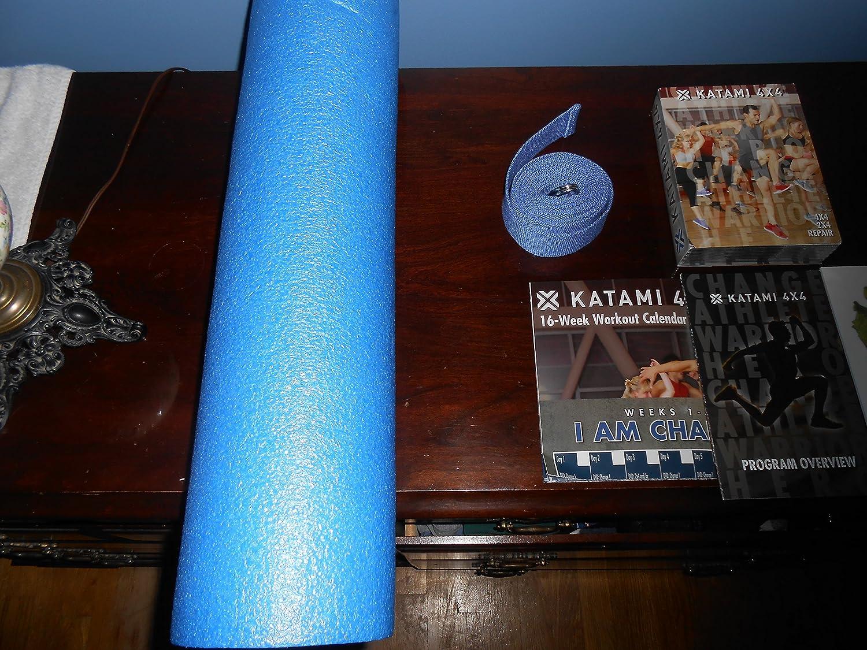 Paul Katami 4X4 System – 10 DVDs, Stretch Rope Foam Roller