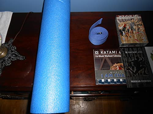 Paul Katami 4X4 System – 10 DVDs, Stretch Rope Foam Roller