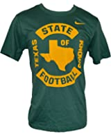 Nike Men's Texas Knows Football T-Shirt Green Yellow