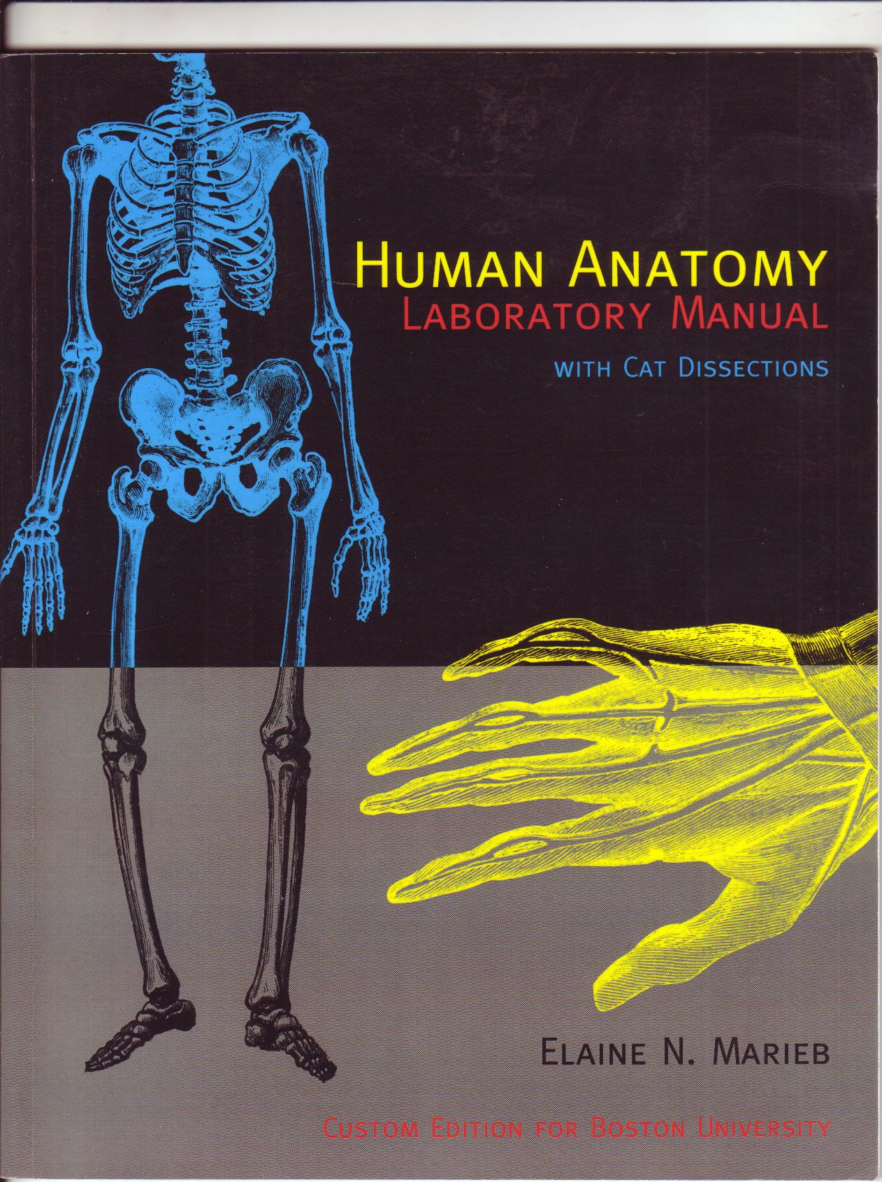 Human Anatomy: Laboratory Manual with Cat Dissections: Elaine Nicpon Marieb:  9780536348425: Amazon.com: Books