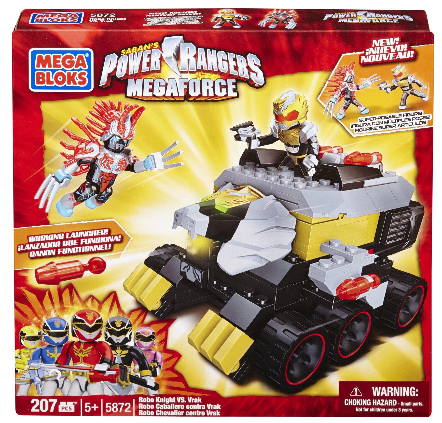 Mega Bloks Power Rangers Megaforce - Robo Knight vs. Vrak