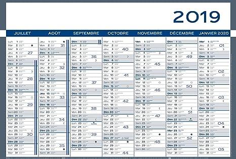 Calendario Parete.Lecas Calendario Parete Sotto Mano 55 X 38 Cm Amazon It
