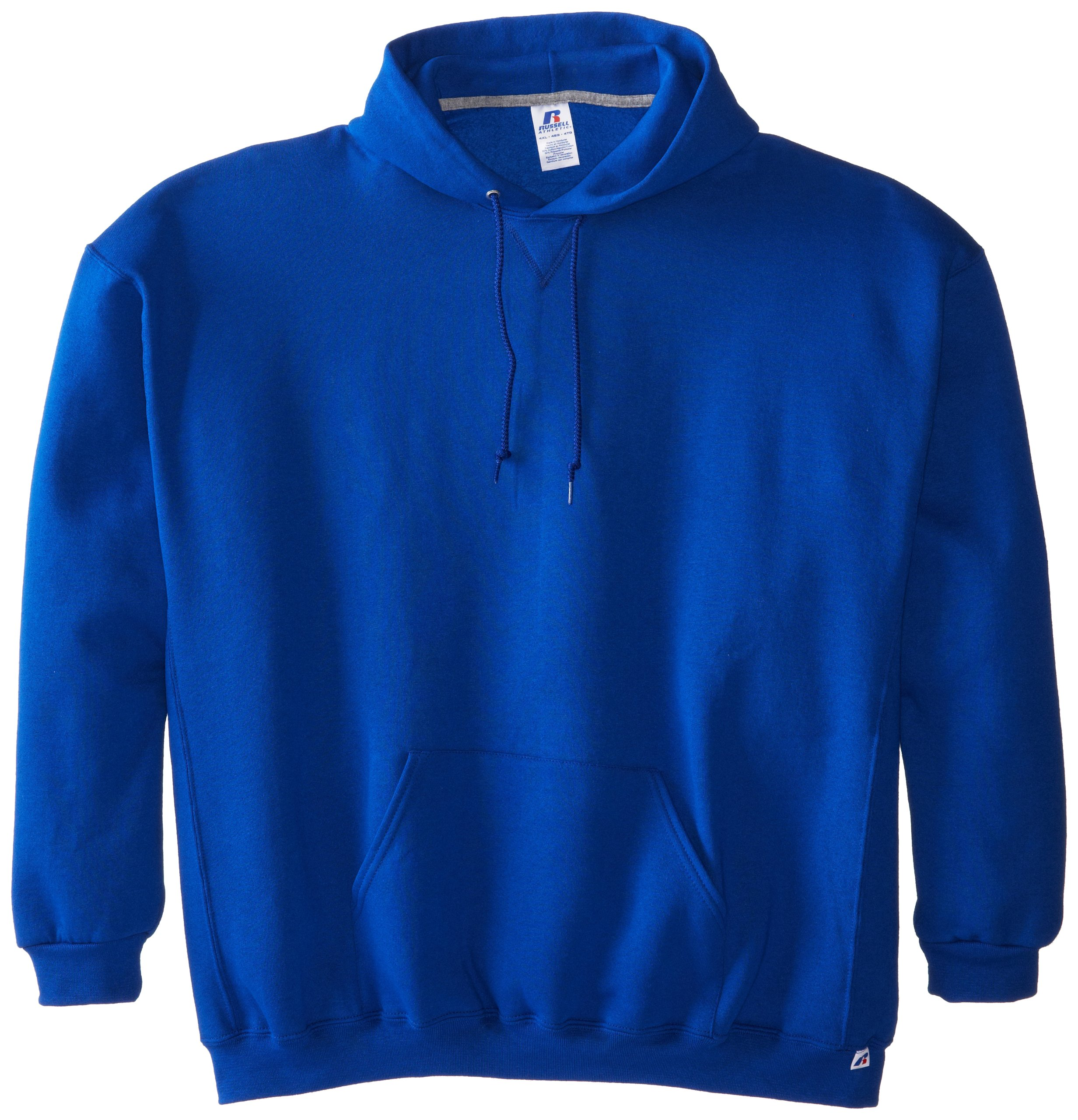Russell Athletic Men's Dri-Power Pullover Fleece Hoodie, Royal, 4X-Large