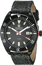 Swiss Military 6-4214.13.007 Reloj Sport para Hombre (Negro, Hombre Estándar)