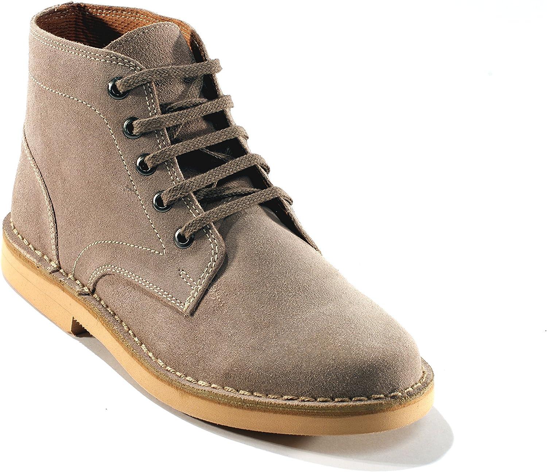 4E Extra Wide Desert Boots