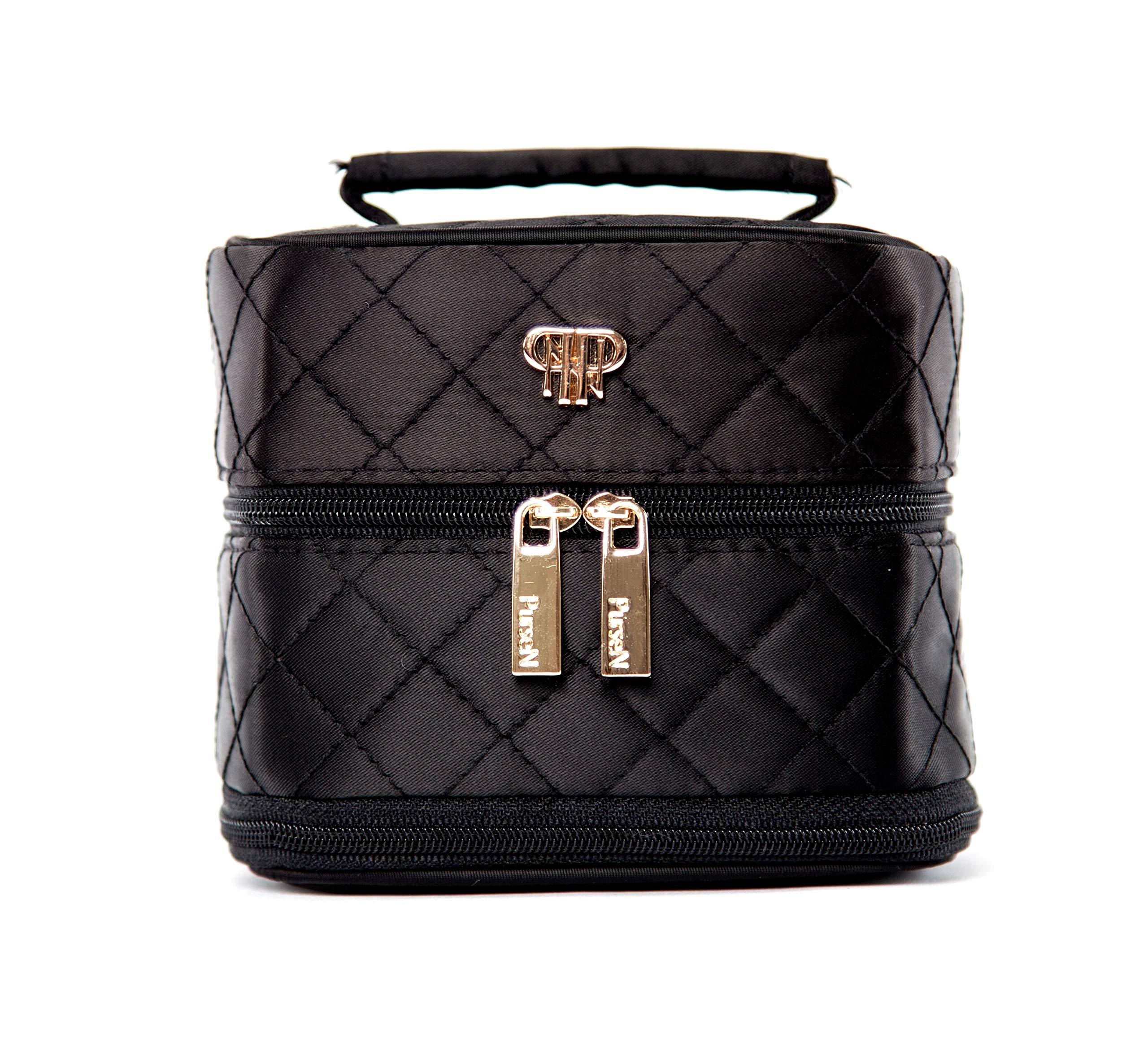PurseN Tiara Small Weekender Jewelry Case (Quilted Elegance)