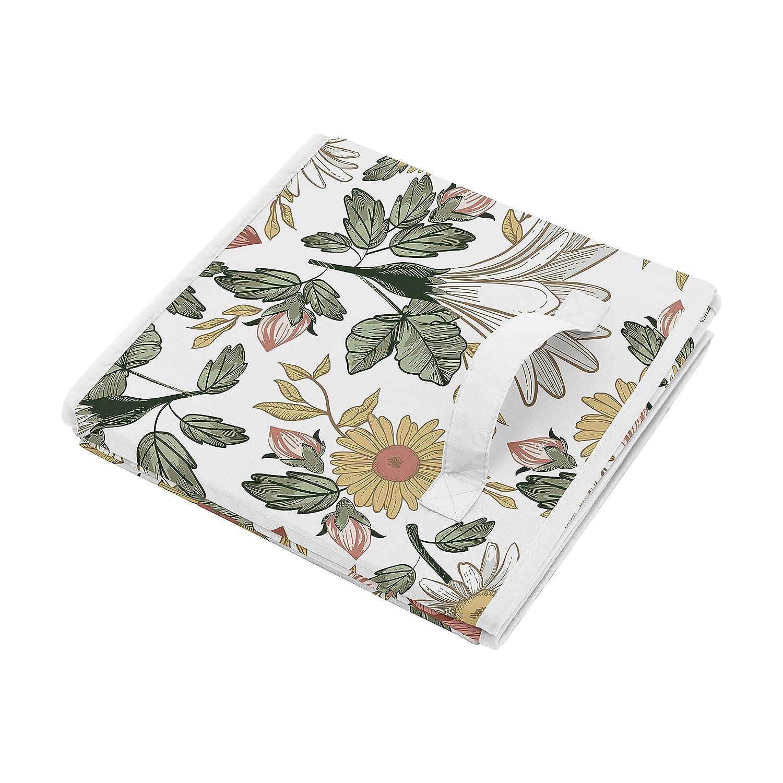 Leonardo Collection Busy Bees Flower Design Bois Tissu Serviette Titulaire boîte cadeau