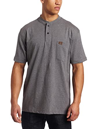 1373d9cea686 Wrangler RIGGS WORKWEAR Men's Short Sleeve Henley Tee at Amazon Men's  Clothing store: Fashion T Shirts