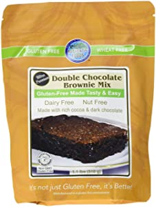 Authentic Foods Gluten Free Double Chocolate Brownie Mix, 1 Pound
