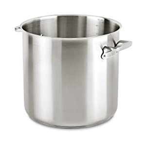 All-Clad E7507464 Stainless Steel Stockpot, 50 quart, Silver