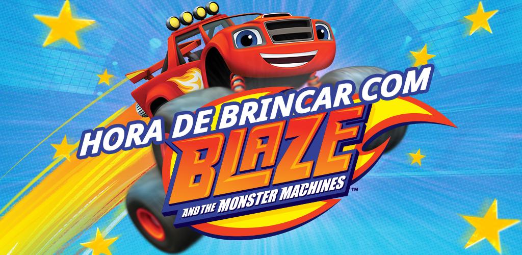 ceb95035b6 HORA DE BRINCAR COM BLAZE AND THE MONSTER MACHINES  Amazon.com.br ...