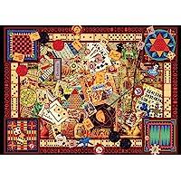 Ravensburger Vintage Games Puzzle 1000pc,Adult Puzzles