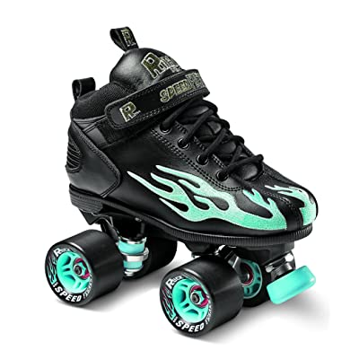 Sure-Grip Rock Flame Seafoam Rollerskates : Sports & Outdoors