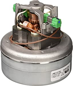 "Ametek-Motors Motor 116311-01, 5.7"" 120 Volt B/2 Stage Thru-Flow"