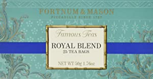 Fortnum and Mason British Tea. Royal Blend 25 Count Tea Bags (1 Pack) USA