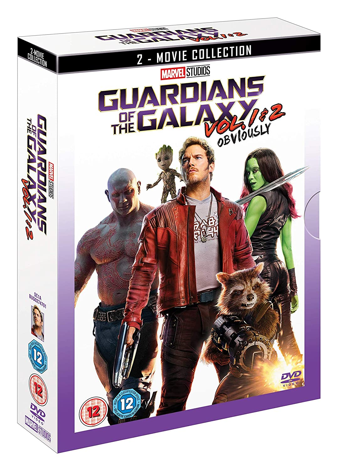 Guardians of the Galaxy Doublepack [Italia] [DVD]: Amazon.es: Cine y Series TV