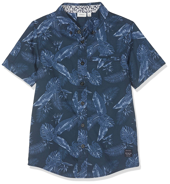 Name It Nkmhasion SS Shirt Box Camicia Bambino