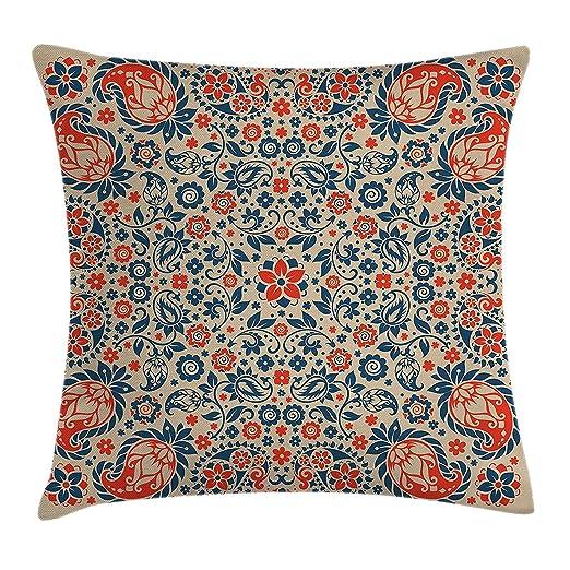Pillow hats Paisley Funda de Cojín, Diseño Floral árabe ...