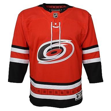 de4d6dc29 Amazon.com: Carolina Hurricanes NHL NHL Youth Premier Blank Red ...