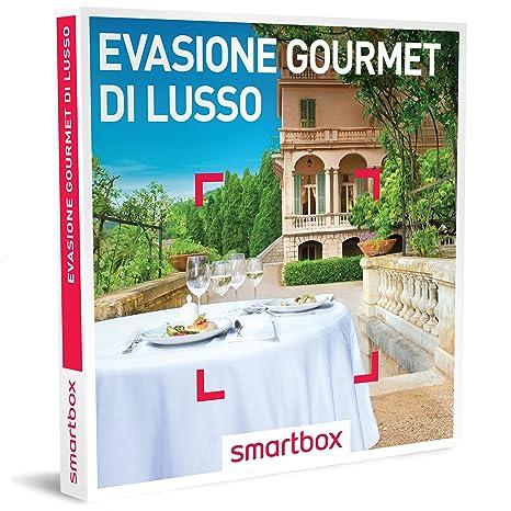 smartbox Cofanetto Regalo- EVASIONE Gourmet 31 soggiorni con ...
