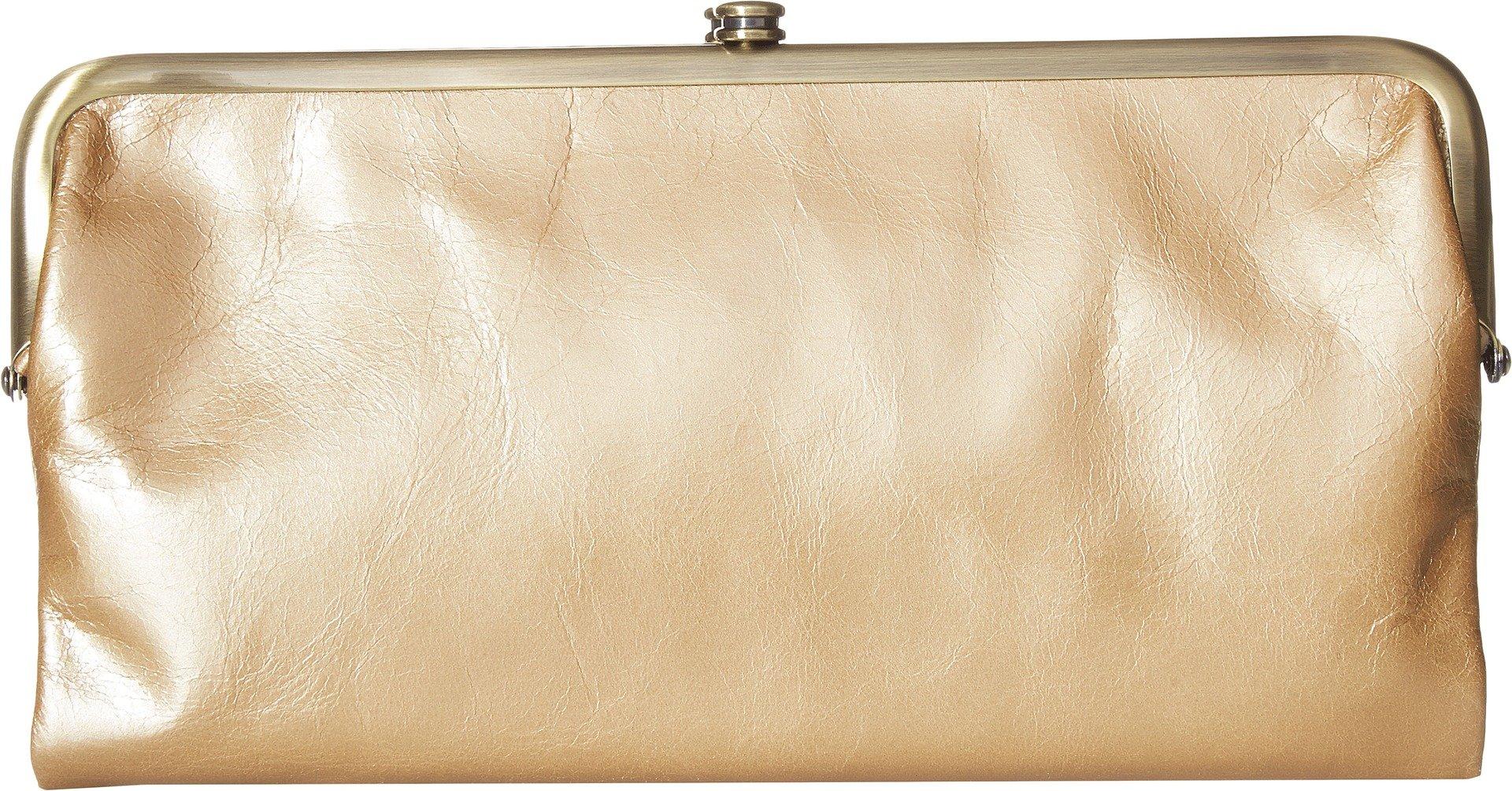 Hobo Womens Lauren Vintage Wallet Clutch Purse (Gold Dust)