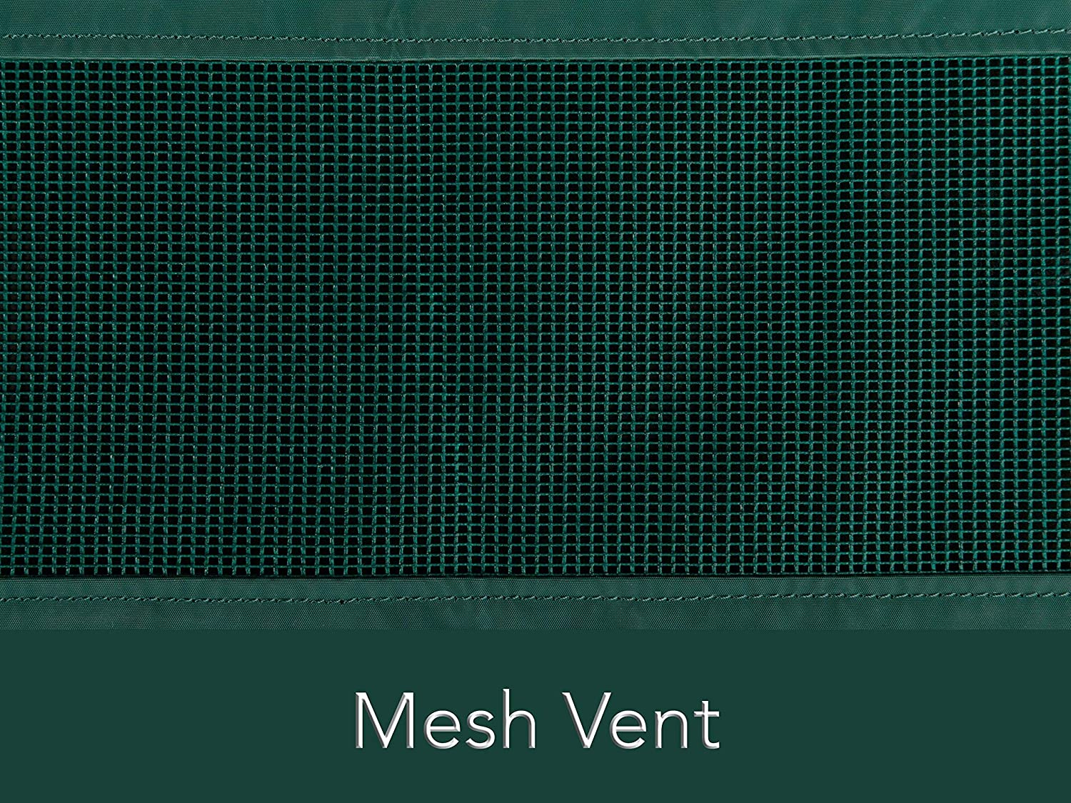 Built-in Mesh Vent Elastic Hem for Secure Fit Classic 12-Gauge Vinyl 62W x 32D x 34H Outdoor Patio Bench Cover Weather Resistant Covermates Green