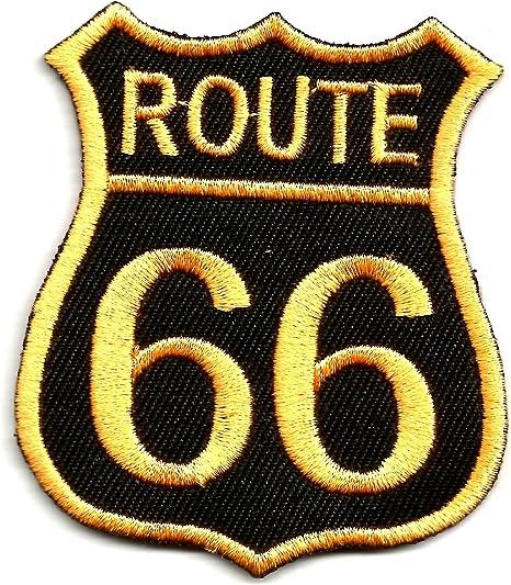 Azul US de la ruta 66 de Estados Unidos Logo Highway Road Sign ...