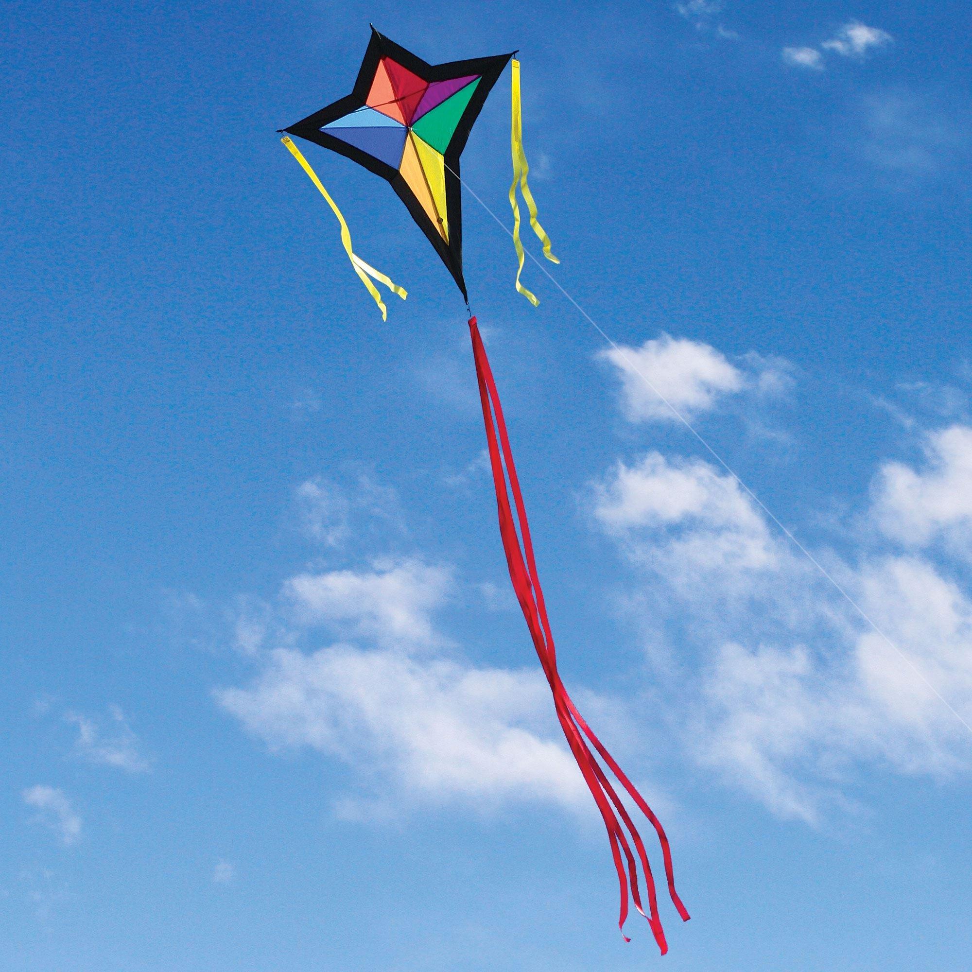Into The Wind Cross Diamond Kite