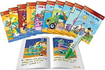 LeapReader 10 Book Bundle Pack Learn To Read System Kids Educational Books