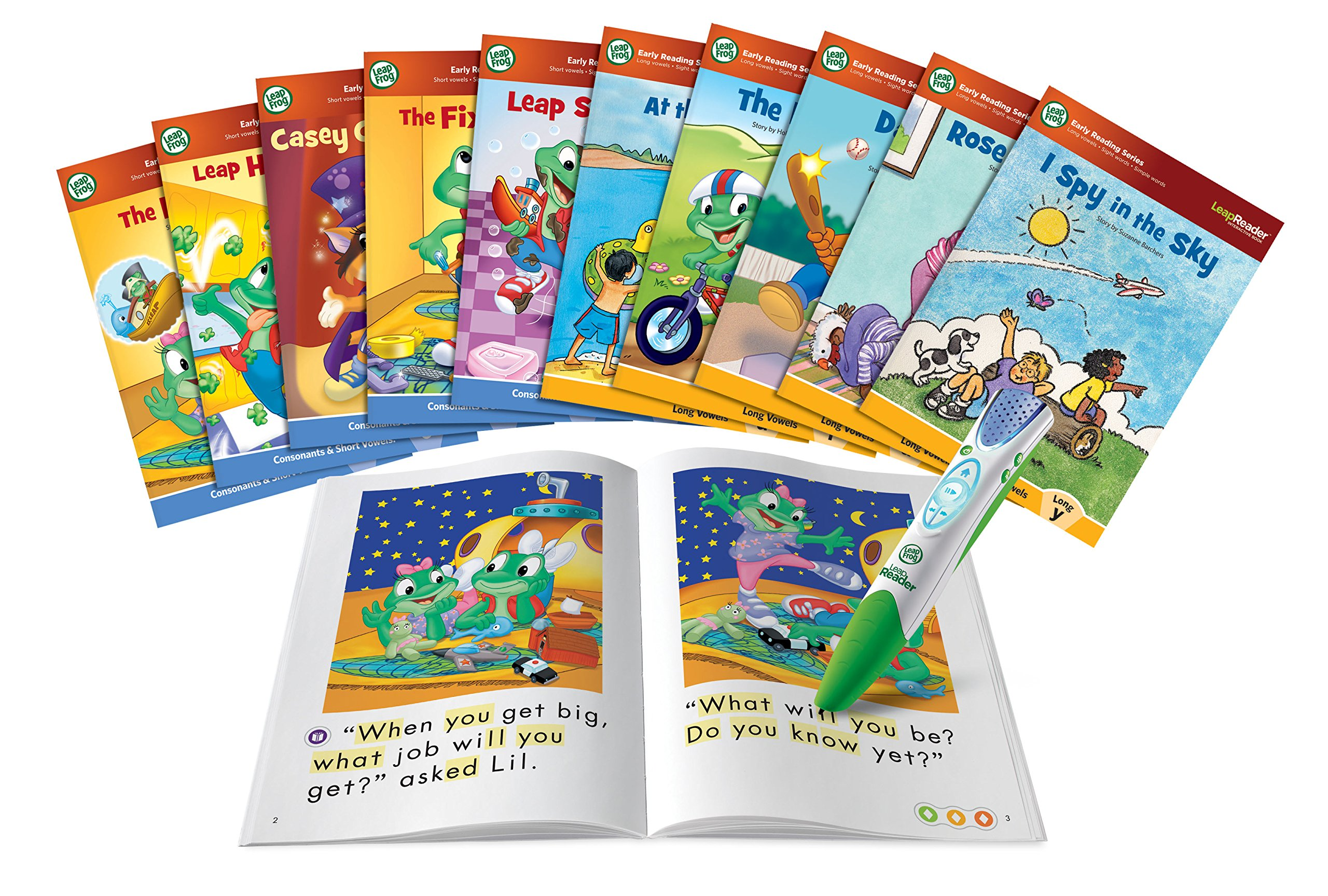 LeapFrog LeapReader System Learn to Read 10 Book Bundle by LeapFrog