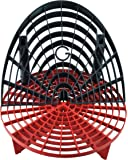 The Grit Guard Insert with Washboard Combo Pack (Black/ Red)