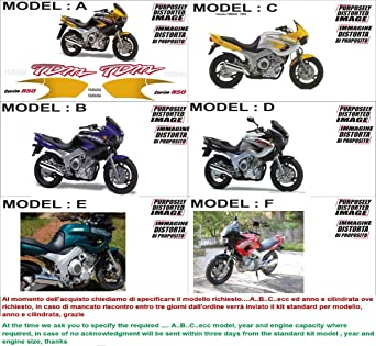 Kit Adesivi Decal Stickers Yamaha Tdm 850 1996 Ability To