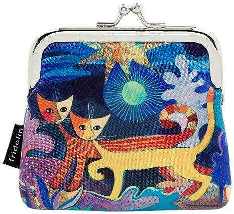 Amazon.com: País de las maravillas – dos gatos cartera ...