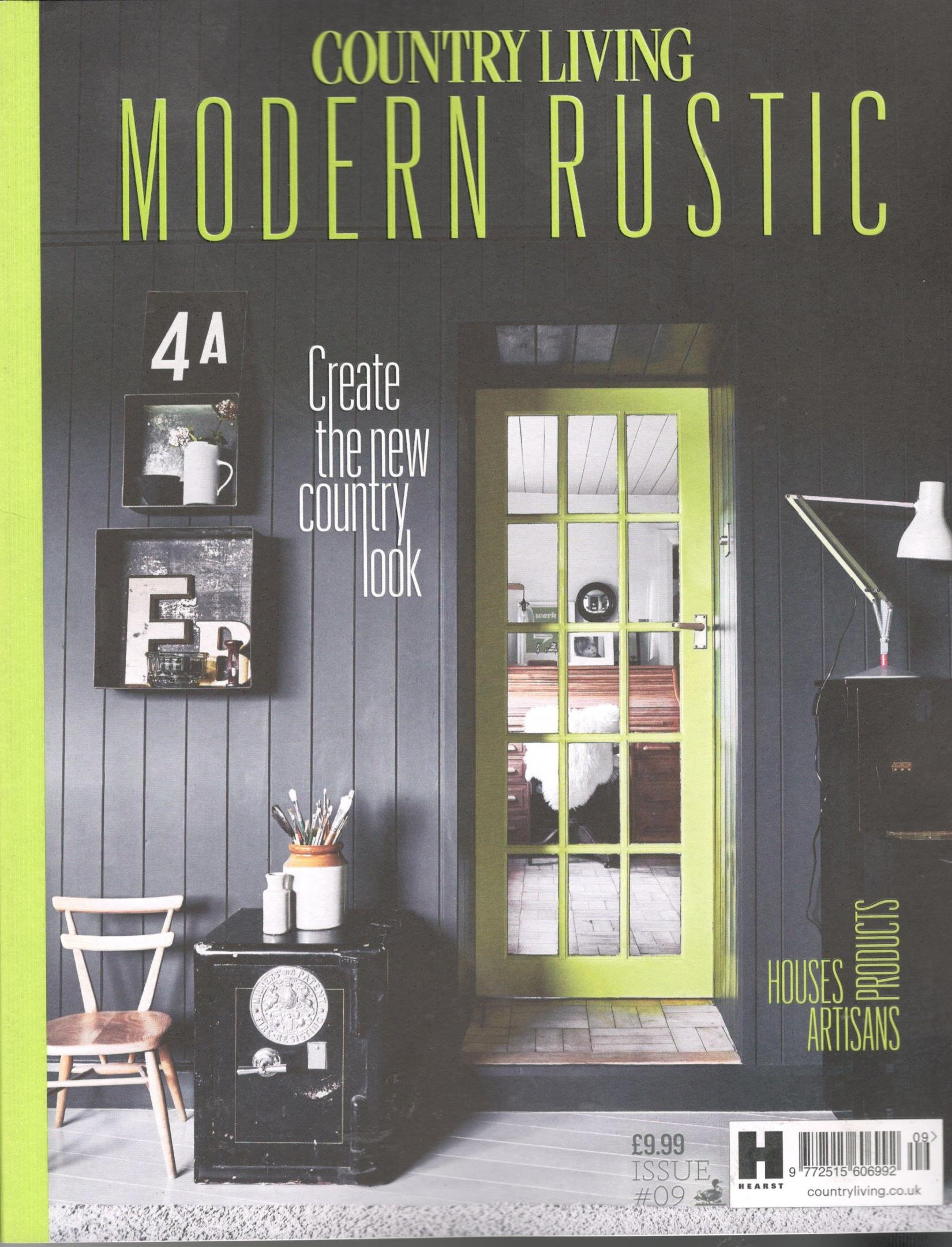 Country Living Modern Rustic Magazine Issue 9 2017 The New
