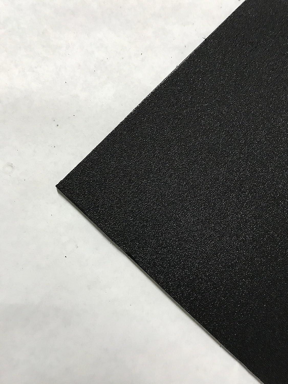 "Black Marine Board HDPE Polyethylene Plastic Sheet 1//2/"" x 24/"" x 27/""  Textured"