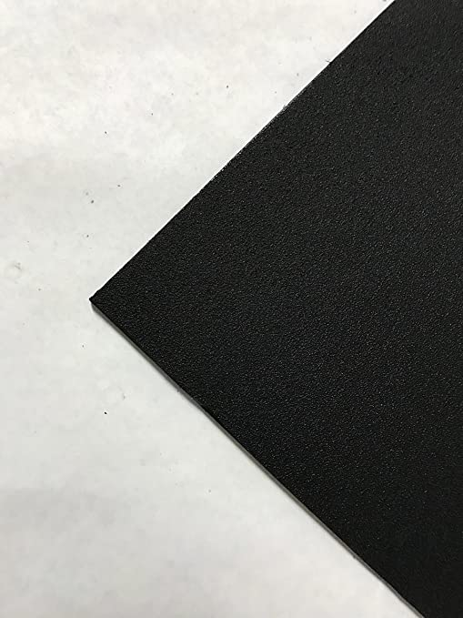 "White Marine Board HDPE Polyethylene Plastic Sheet 1//4/"" x 24/"" x 27/""  Textured"