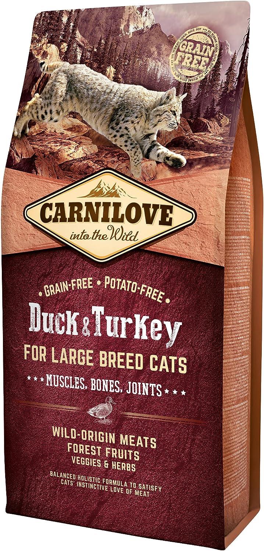 Carnilove Feline Adult Large Pato Pavo 6Kg 6000 g