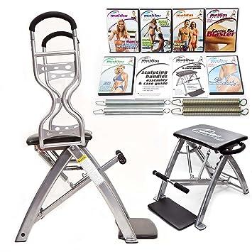 Malibu Pilates Pro - Silla acelerado resultados del paquete: Amazon.es: Deportes y aire libre