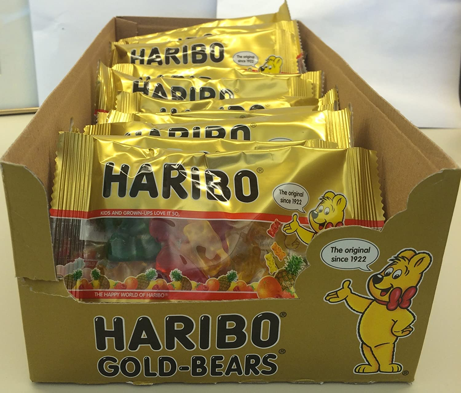 Haribo gummy bears are just one of many products that thomas - Amazon Com Haribo Gold Bears 2 Ounce Packages Pack Of 24 Gummy Candy Grocery Gourmet Food
