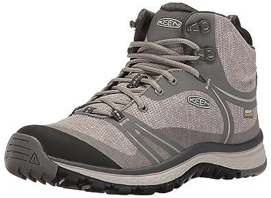 Keen TERRADORA MID WP - Walking boots - gargoyle/magnet KiOFL5