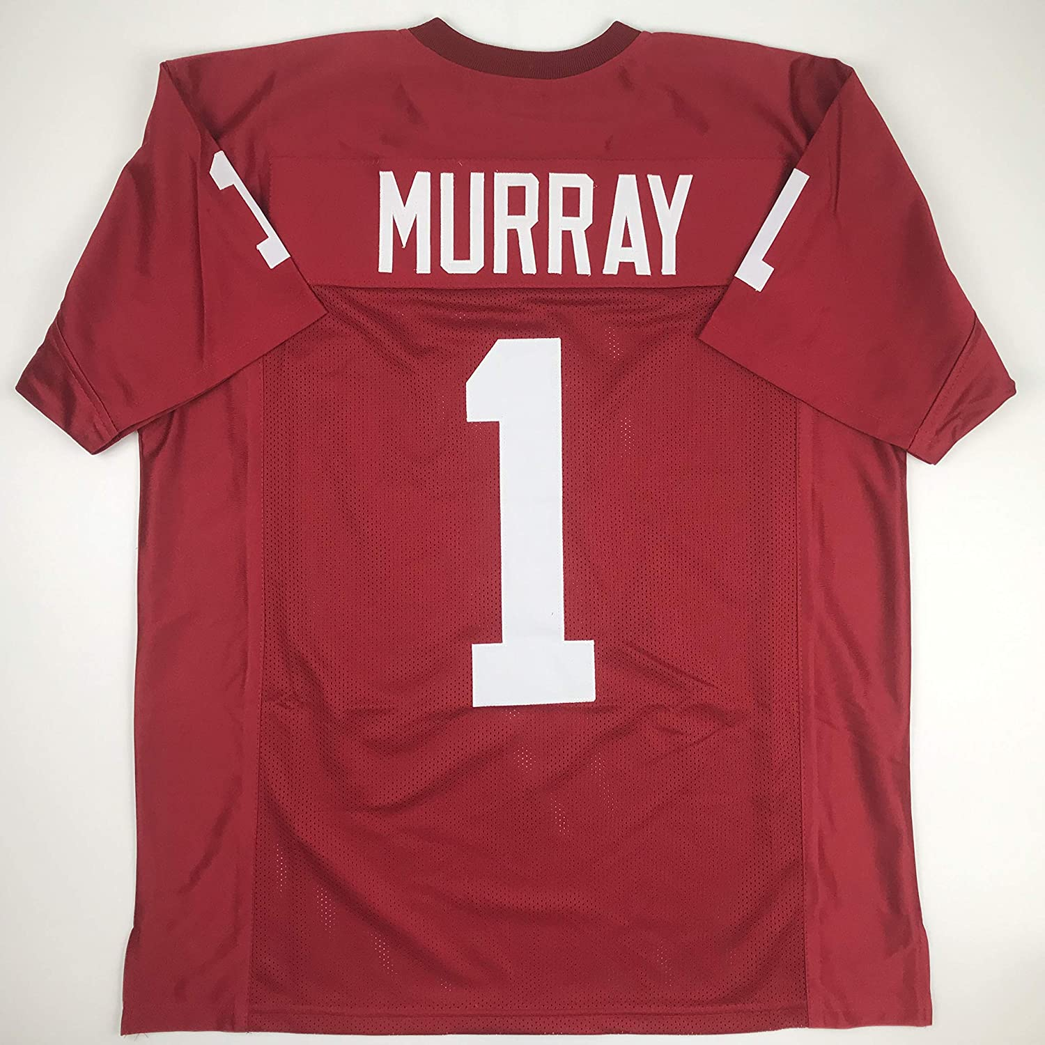 new product 50d8c 934f0 Amazon.com: Unsigned Kyler Murray Oklahoma Maroon College ...