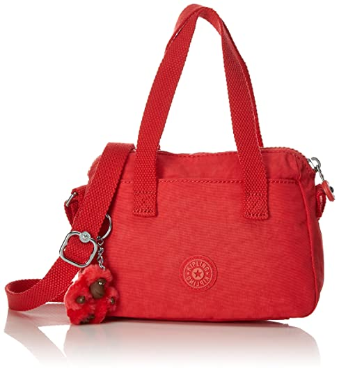 Kipling - Leike, Carteras Niñas, Rot (Happy Red Mix), One Size: Amazon.es: Zapatos y complementos