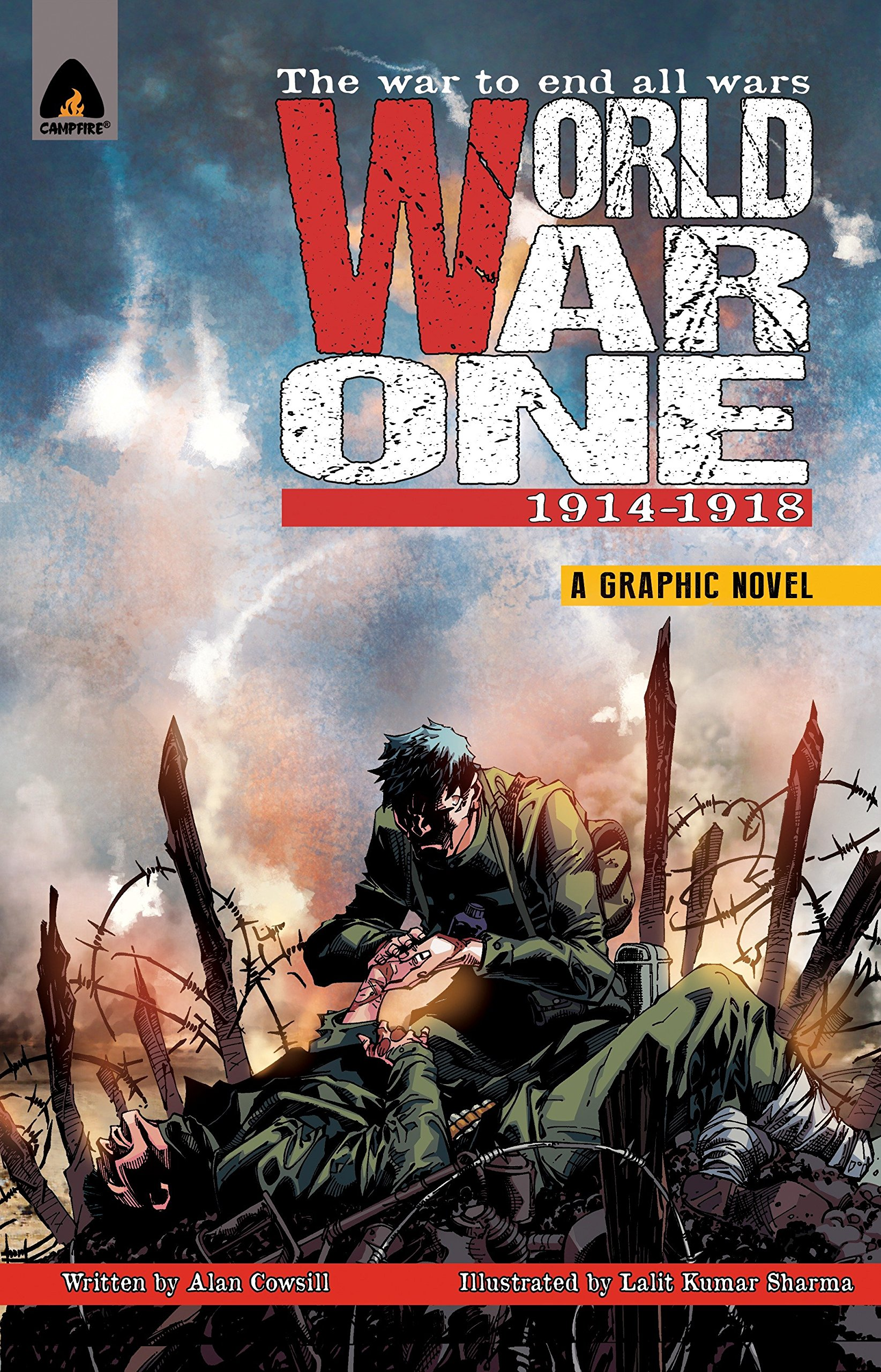 amazon world war one 1914 1918 campfire graphic novels alan