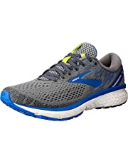 Brooks Australia Men's Ghost 11 Road Running Shoes, Grey/Blue/Silver