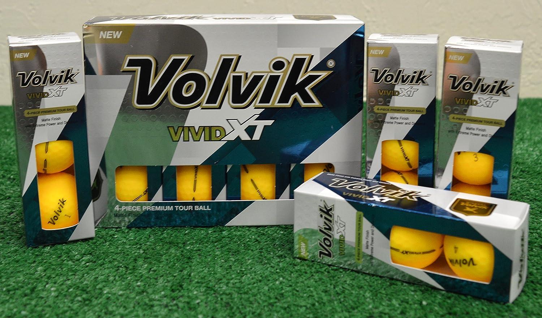 大勧め 2 Dozen Volvik 2 Vivid Volvik XTマットイエローゴルフボール – 新しいinボックス B0725SS7PH B0725SS7PH, 自然エネルギー安川商事:9ce3aea8 --- umniysvet.ru