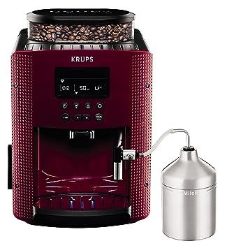Krups Compact Cappucino EA816570 - Cafetera Superautomática 15 Bares, Pantalla LCD, 3 Niveles Intensidad de 20 ml a 220 ml + Espresseria Automatic ...