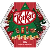 Nestle KITKAT Assorted Christmas & Holiday Chocolate and Candy Sharing Tray 335 g