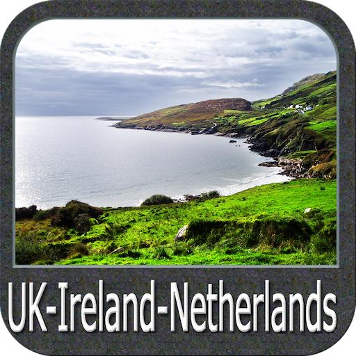 UKIrelandNetherlands Gps Map Navigator Amazoncomau Appstore